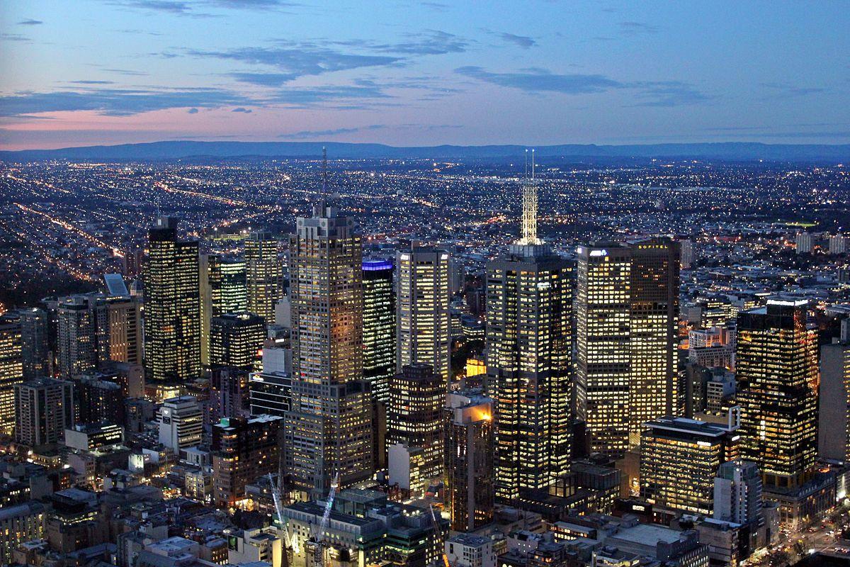 Melbourne was rated the most-livable city by the Economist Intelligence Unit. Photo: public domain