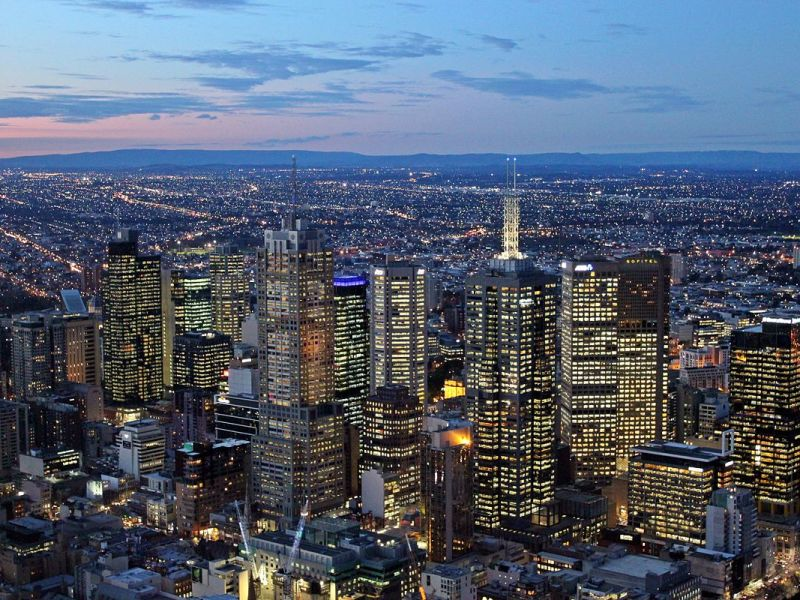 Melbourne was rated the most-livable city by the Economist Intelligence Unit. Photo: public domain