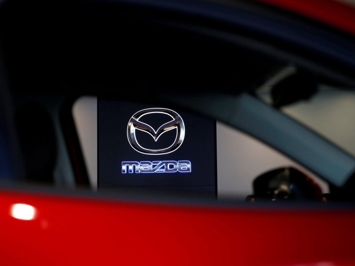 The Mazda logo is pictured at a dealership in Tokyo.      Photo: Reuters / Toru Hanai