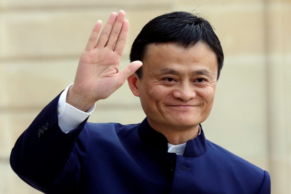 Alibaba Group founder and chairman Jack Ma. Photo: Reuters/Philippe Wojazer