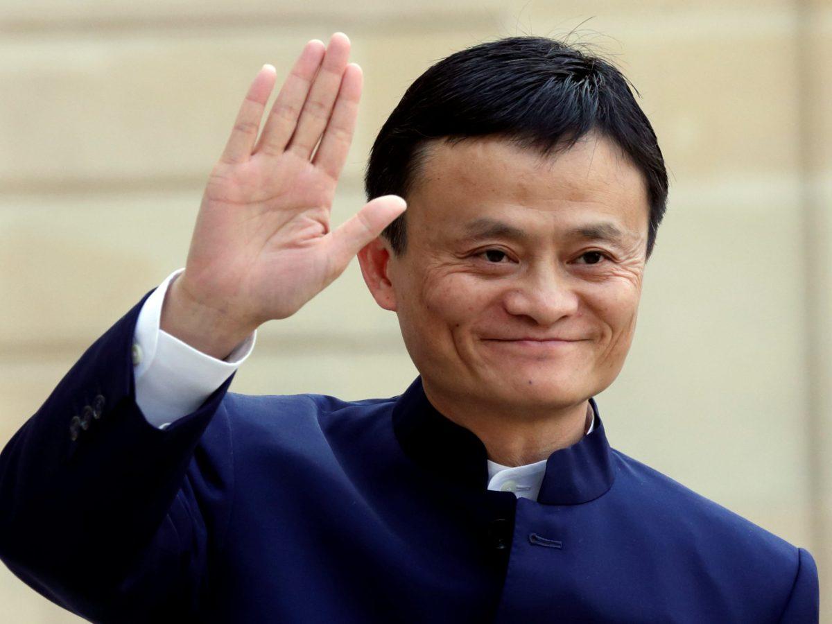 Alibaba Group founder and chairman Jack Ma. Photo: Reuters/Philippe Wojazer