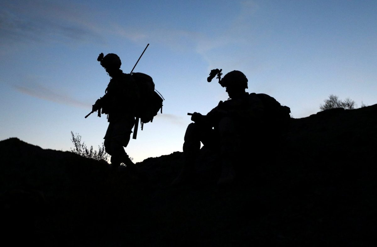 US soldiers on patrol in Afghanistan's Paktika province, near the border with Pakistan. Photo: Reuters/ Goran Tomasevic