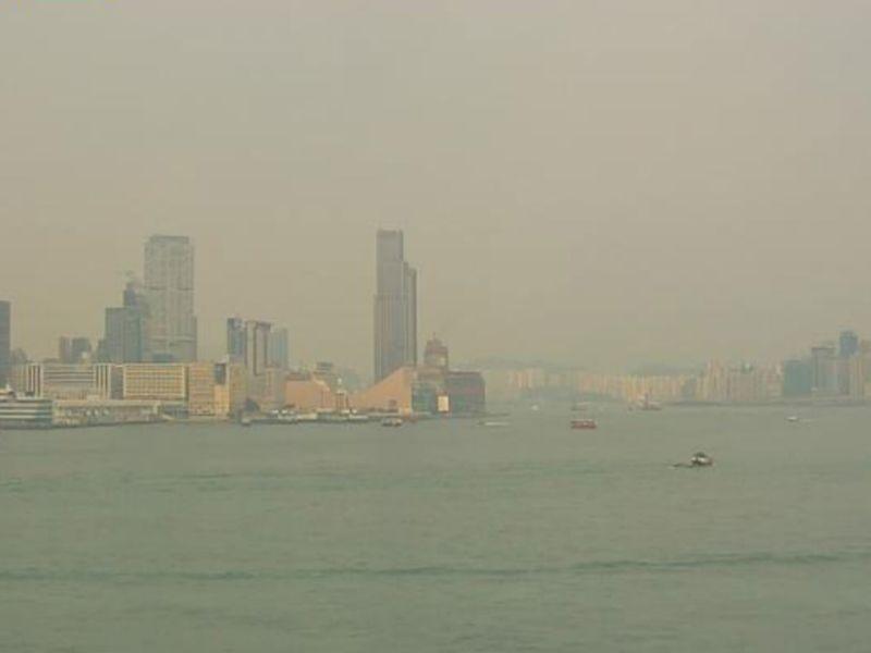 Victoria Harbour, Hong Kong. Photo: HK Observatory