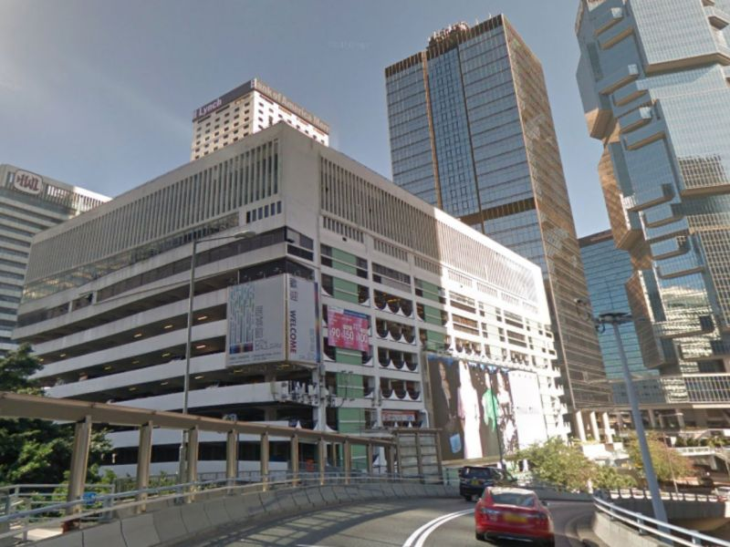 Murray Road carpark in Central on Hong Kong Island. Photo: Google Maps