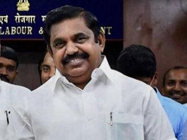 Tamil Nadu Chief Minister E Palaniswami. Photo: Firstpost