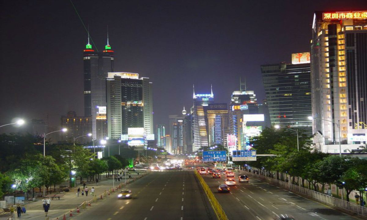 Shenzhen, China. Photo: Wikimedia Commons