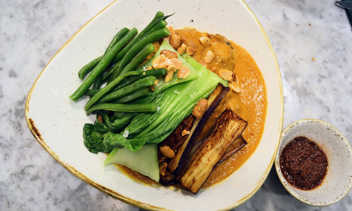 Kare-kare is a beef and vegetables stew cooked in a peanut-rich sauce. Photo: Jennifer Wong