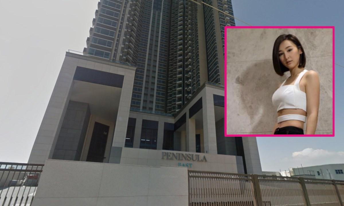 Samantha Ko Hoi-ling purchased an apartment at Peninsula East in Yau Tong. Photos: Google Maps, Facebook