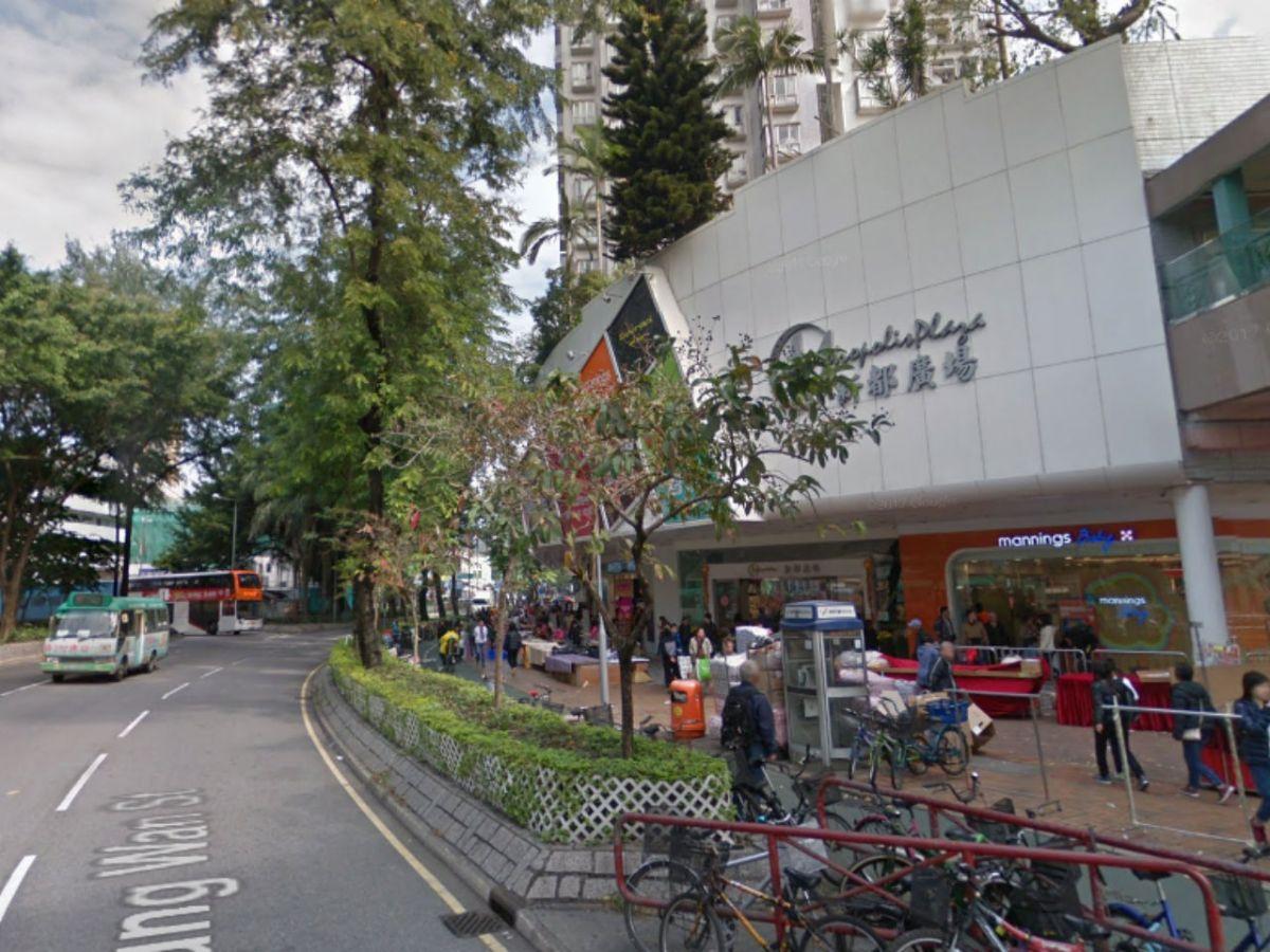 Metropolis Plaza in Sheung Shui, New Territories. Photo: Google Maps