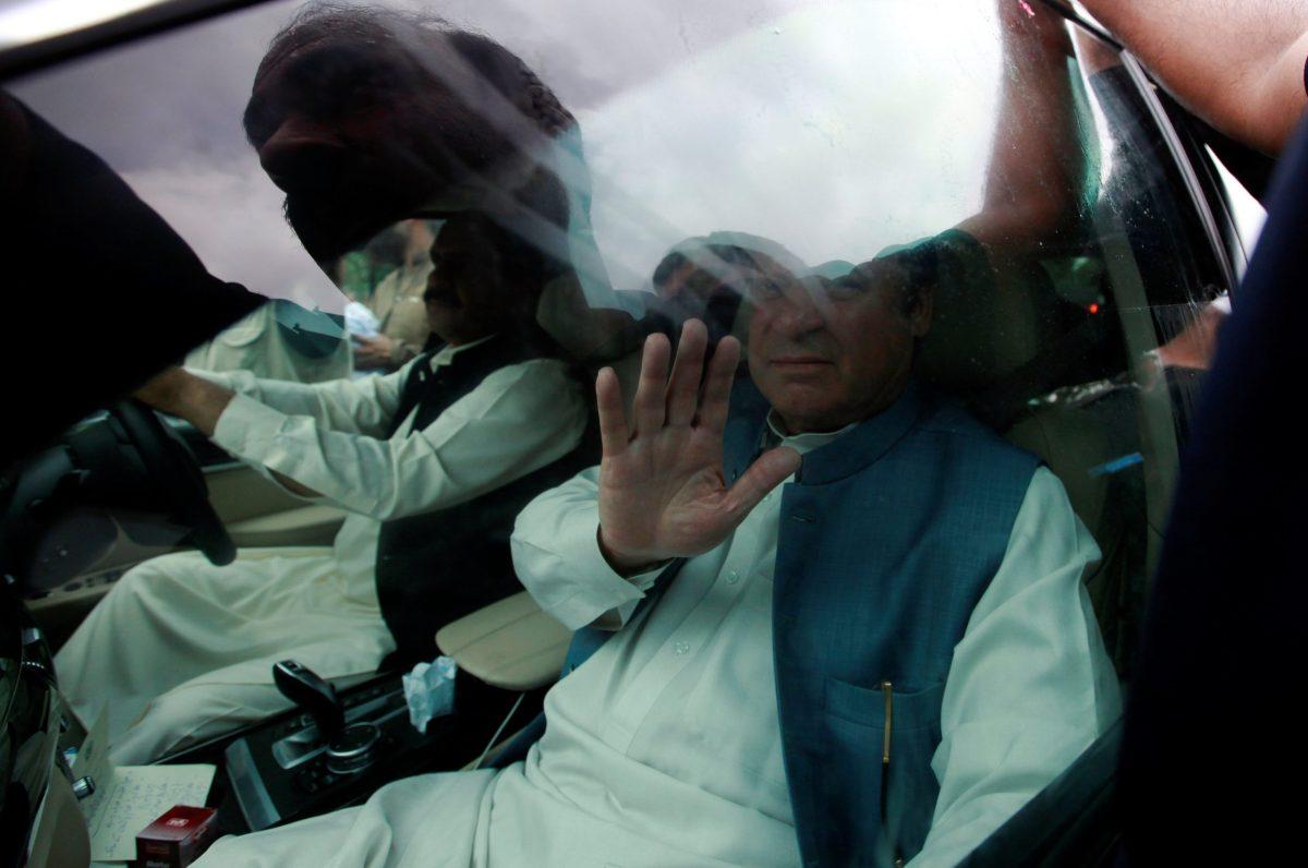Former Pakistani Prime Minister Nawaz Sharif. Photo: Reuters Reuters / Faisal Mahmood