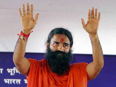 Yoga guru Baba Ramdev. His latest product, a messaging app, has turned out to be a security nightmare for users. Photo: Hindustan Times