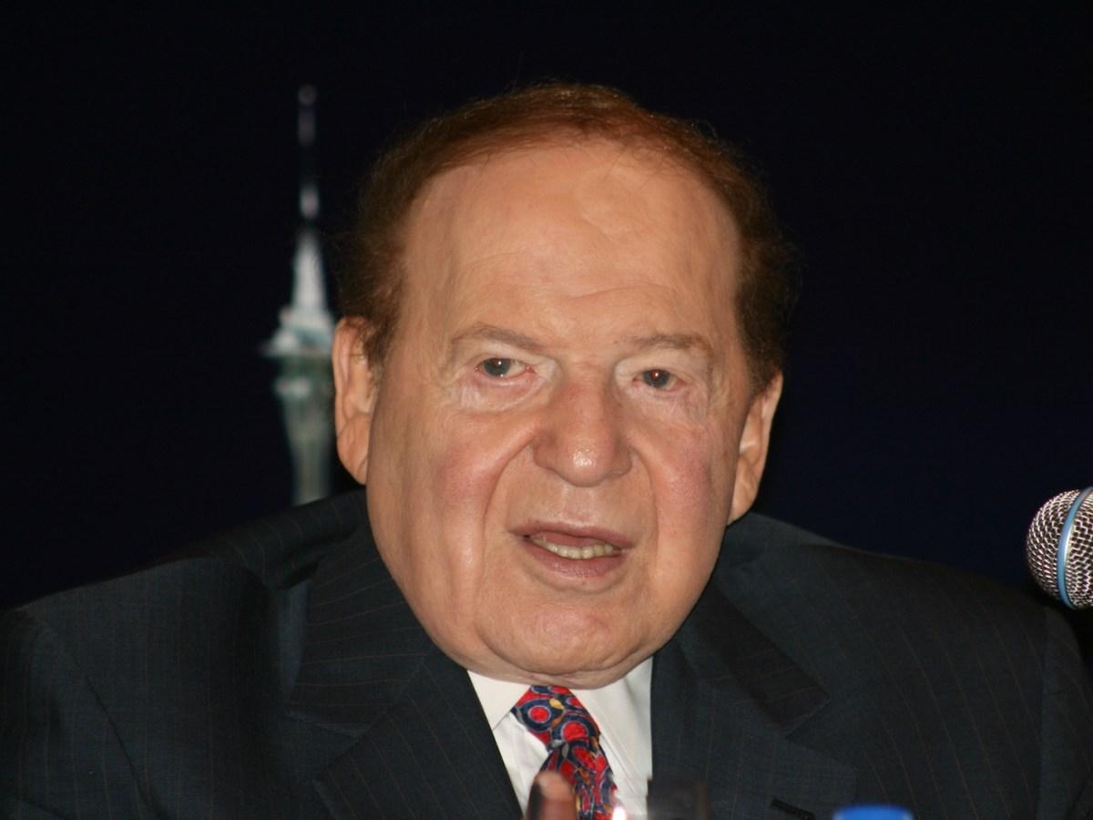 Venetian Macao founder Sheldon Adelson. Photo: Wikimedia Commons/BecTrigger