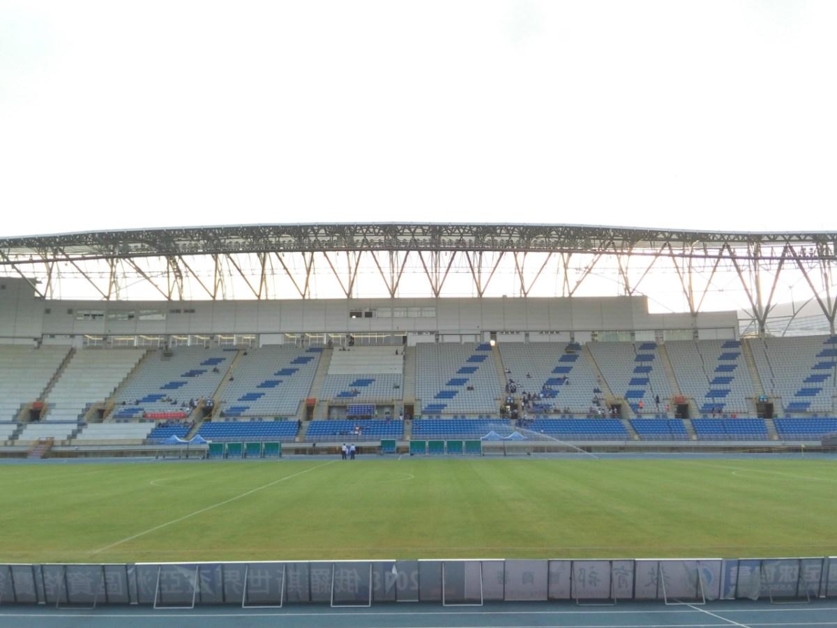 Taipei Municipal Stadium, Taiwan. Photo: Wikimedia Commons/Eric850130