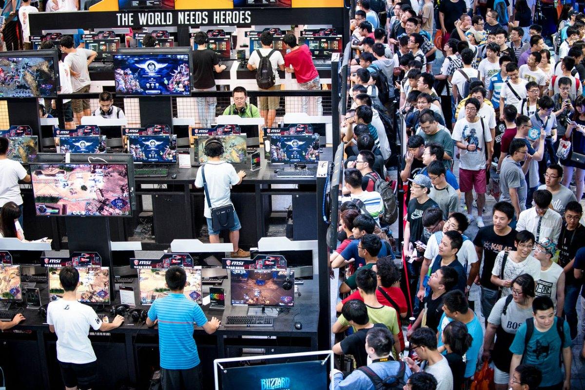 ChinaJoy electronic entertainment expo. Photo: ChinaJoy
