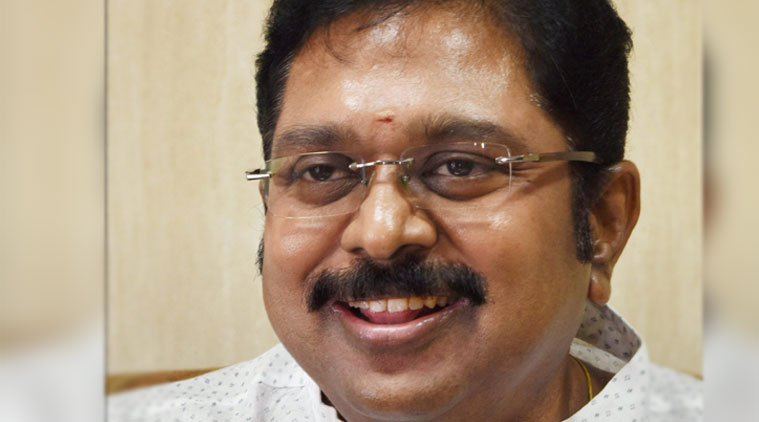 Decisions made by TTV Dinakaran as deputy general secretary of the AIADMK will have no legal impact. Photo: The Indian Express