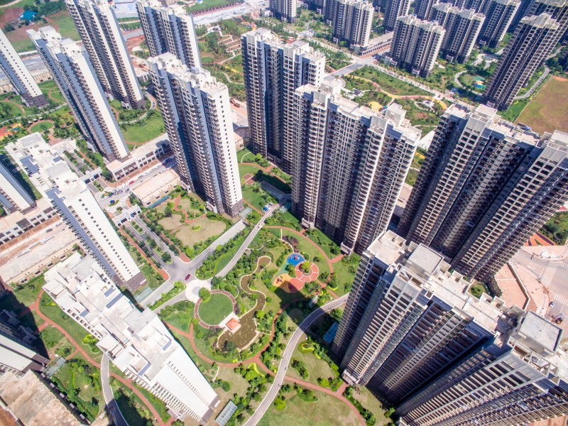 Chinese Apartment Buildings Photo: iStockPhoto