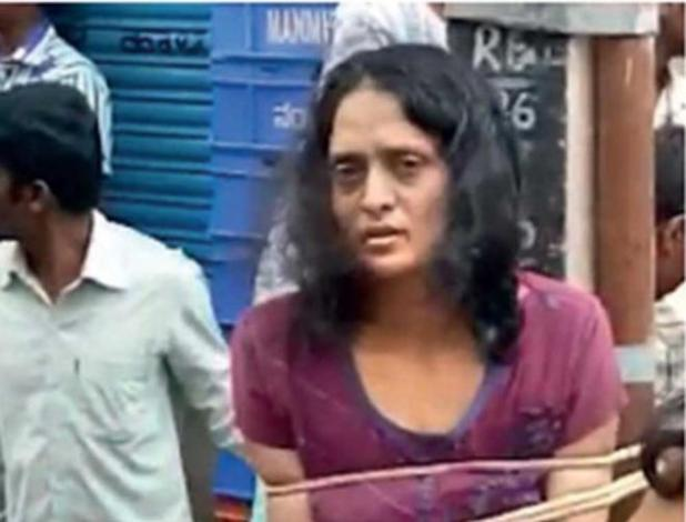 Swati Sarkar, 36, allegedly killed her disabled daughter. Photo: Deccan Chronicle