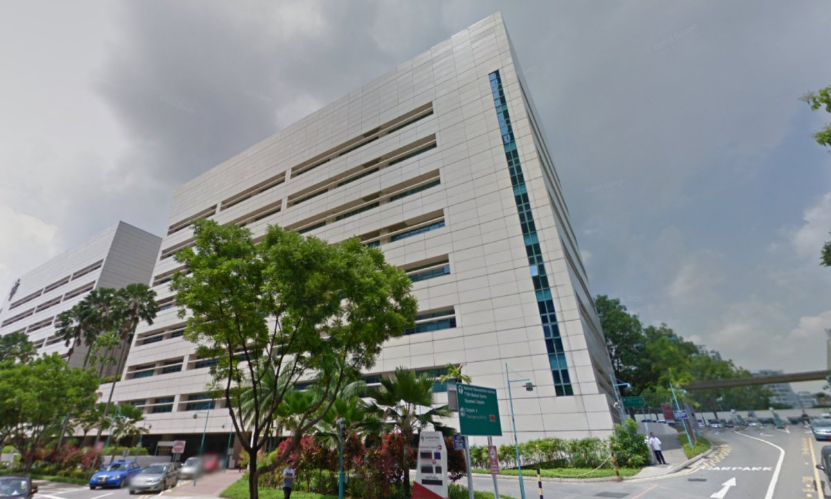 Tan Tock Seng Hospital, Singapore. Photo: Google Maps