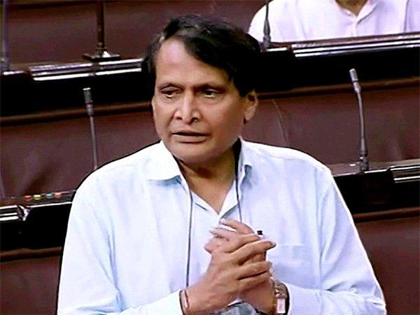 Railway Minister Suresh Prabhu. Photo: oneindia