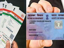 PANs must be linked with Aadhaar by August 31. Photo: Economic Times