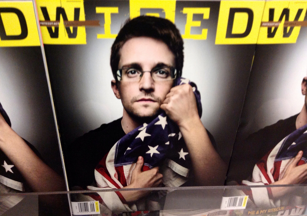 NSA whistleblower Edward Snowden. Photo: Mike Mozart via Flickr
