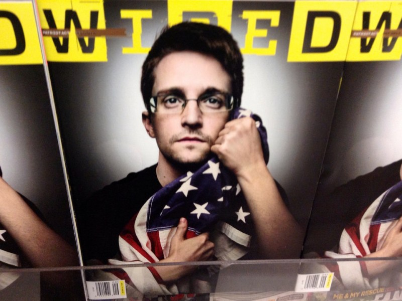 NSA whistleblower Edward Snowden. Photo: Mike Mozart via Flickr