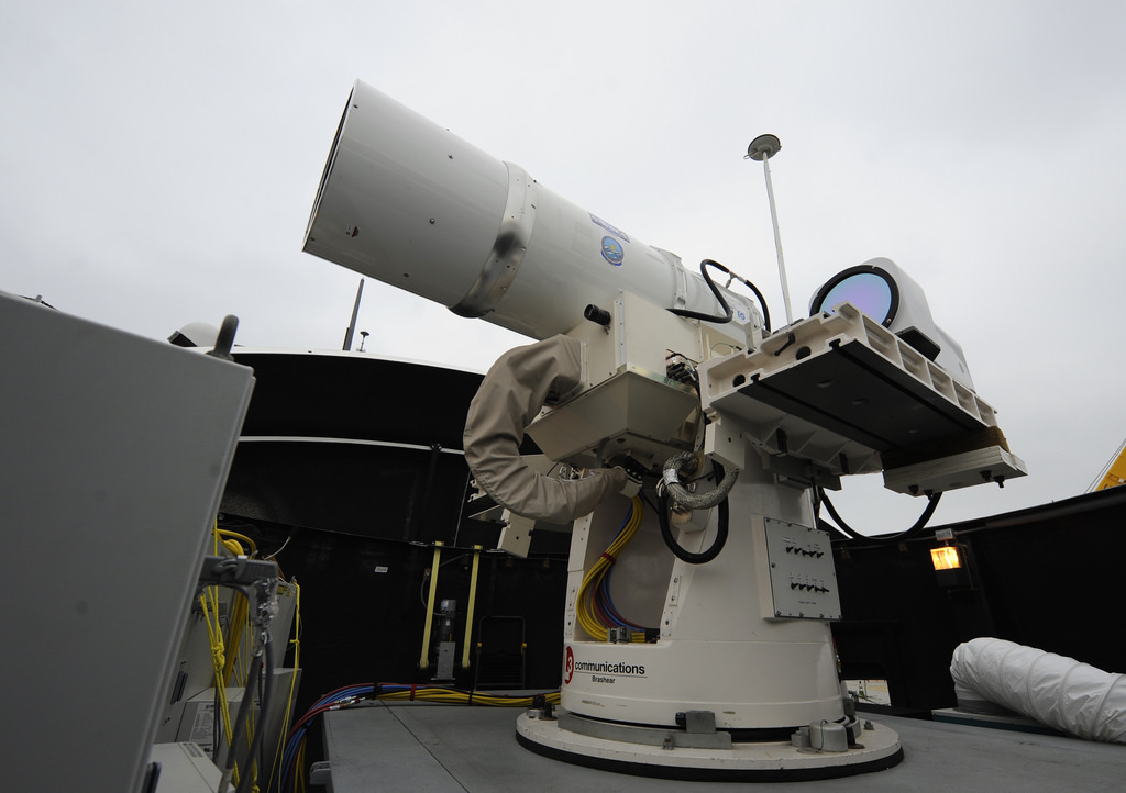 A solid state last weapon system aboard the USS Dewey. Photo: US Navy via Flickr