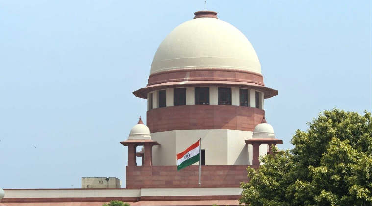 The Indian Supreme Court in New Delhi. Photo: The Indian Express