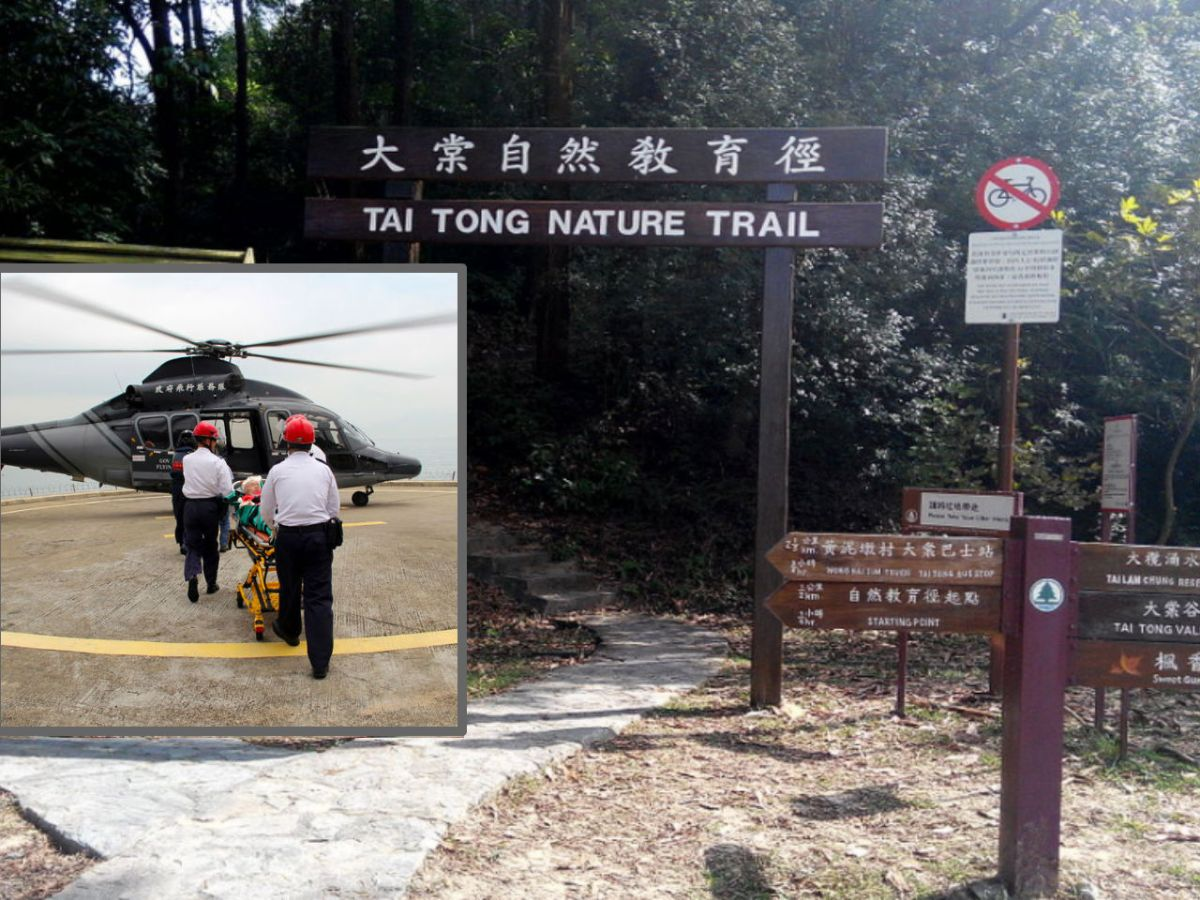 Tai Tong in Tai Lam Country Park in the New Territories. Photo: Wikimedia Commons, Chong Fat, HK Govt