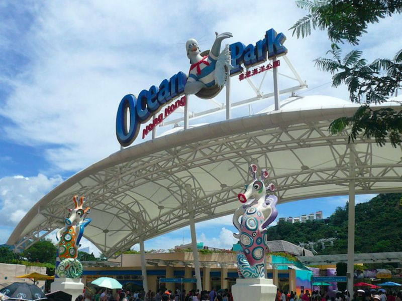 Ocean Park, Hong Kong Island. Photo: Wikimedia Commons, Ctac
