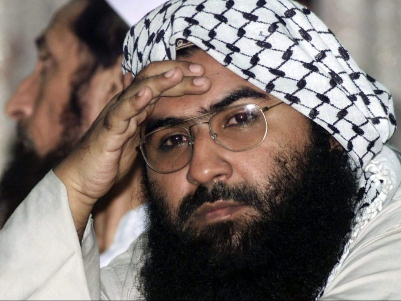 Jaish-e-Mohammed chief Maulana Masood Azhar. Photo: Reuters