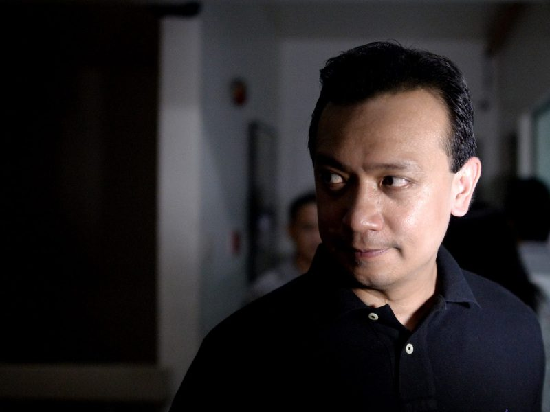 Senator Antonio 'Sonny' Trillanes in a May 5, 2016 file photo. Photo: AFP/Noel Celis