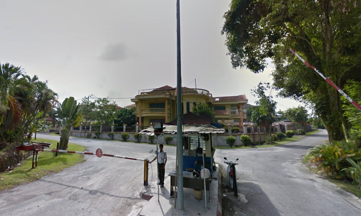 The fatal accident occurred near Taman Villa Height in Kajang, Selangor, Malaysia. Photo: Google Maps