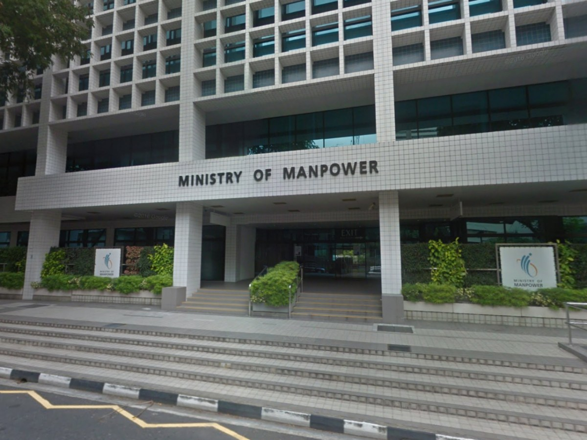 The Ministry of Manpower, Singapore. Photo: Google Maps