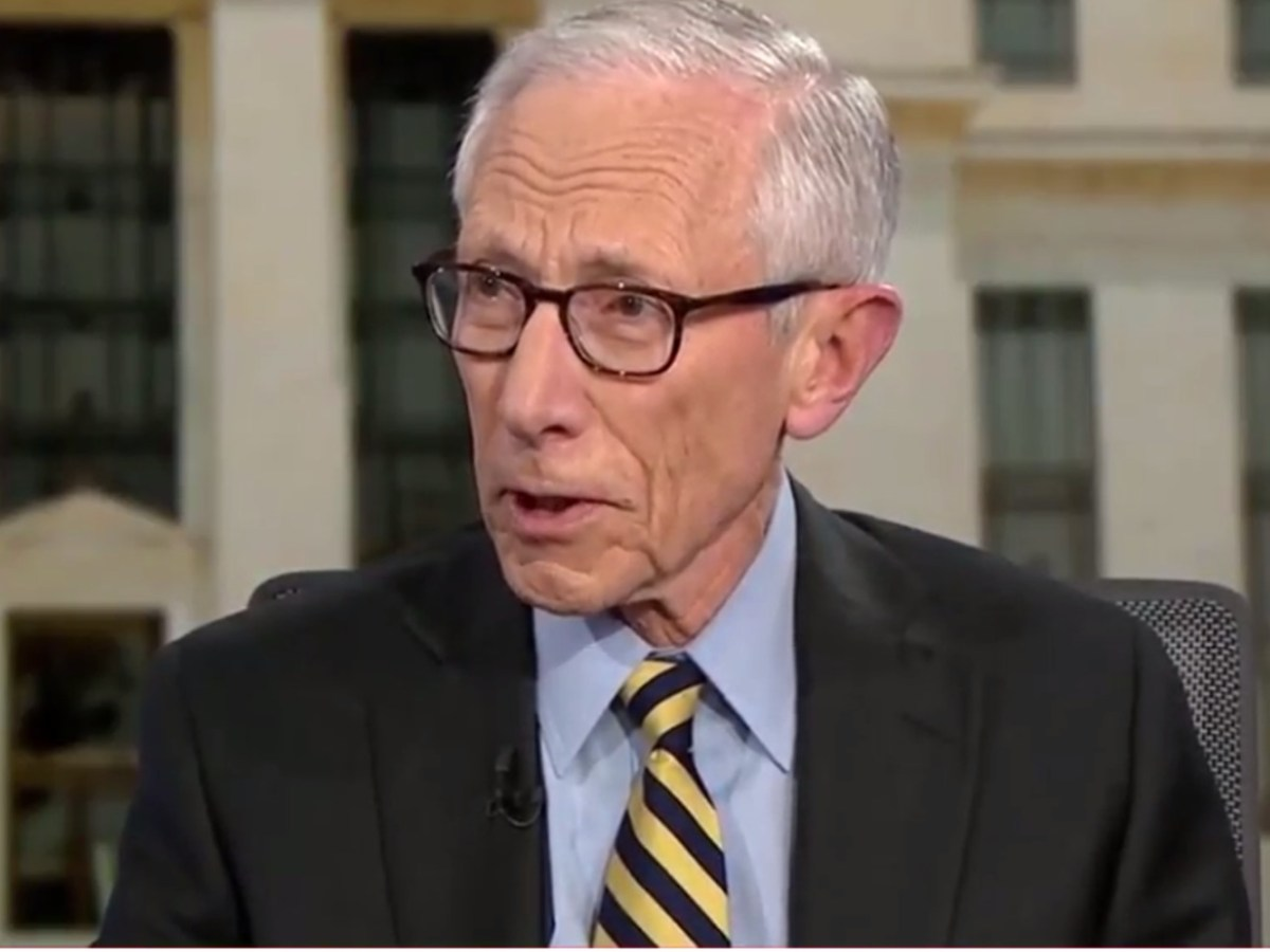 Former US Federal Reserve vice chair Stanley Fischer