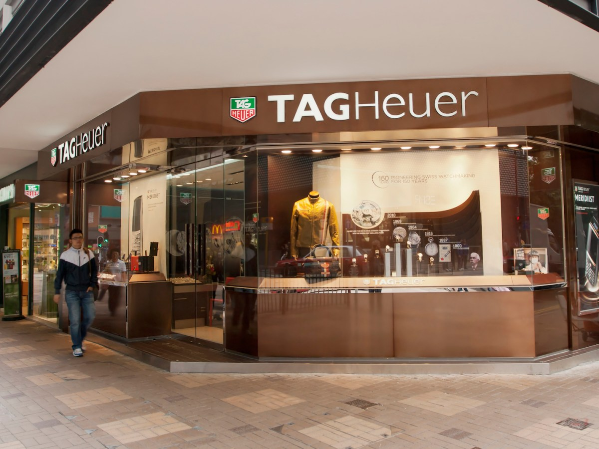 A Tag Heuer store in Kowloon. Photo: iStock