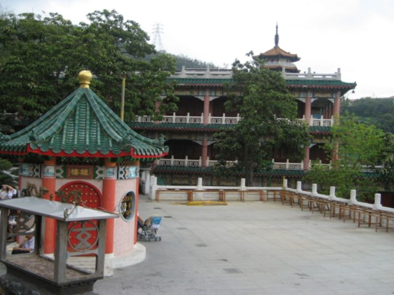 Yuen Yuen Institute, a Taoist temple in Tsuen Wan, New Territories. Photo: Wikimedia Commons, Ahleong