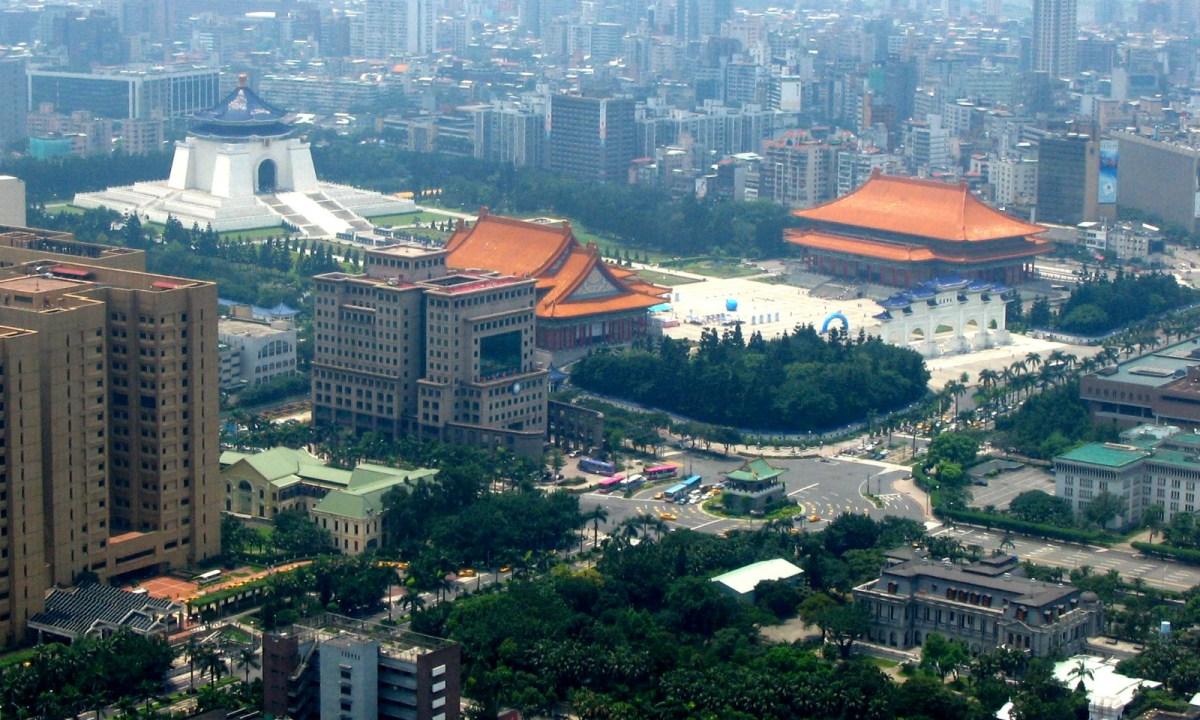 Zhongzheng district, Taipei, Taiwan. Photo: Wikimedia Commons/Allen Timothy Chang