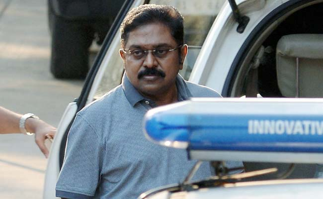 TTV Dinakaran is leading a splinter group of the All India Anna Dravida Munnetra Kazhagam (All India Anna Dravidian Progress Federation or AIADMK), with Sasikala serving a four-year jail term in Bangalore. (Image via PTI)