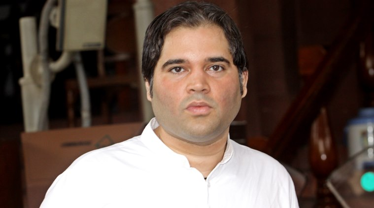 BJP MP Varun Gandhi. Photo: The Indian Express