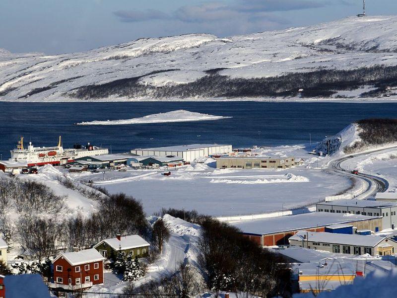 View of Kirkenes, Norway. Photo: Wikipedia