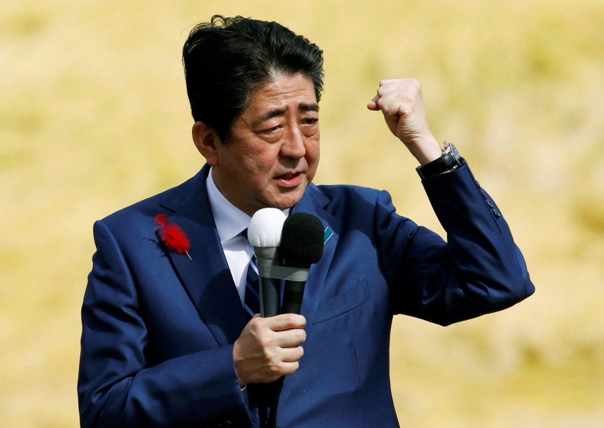 Japan's economy under Prime Minister Shinzo Abe has taken a new twist. Reuters/Toru Hanai