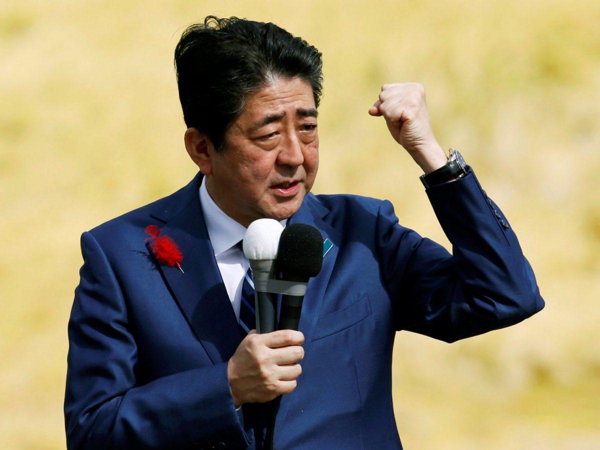 Japan's economy under Prime Minister Shinzo Abe has taken a new twist. Reuters/Toru Hanai