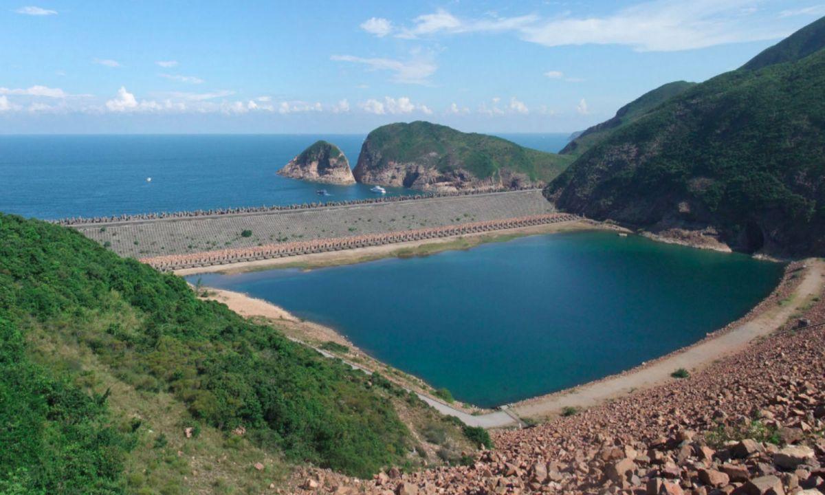 High Island Reservoir East dam. Photo: Wikipedia