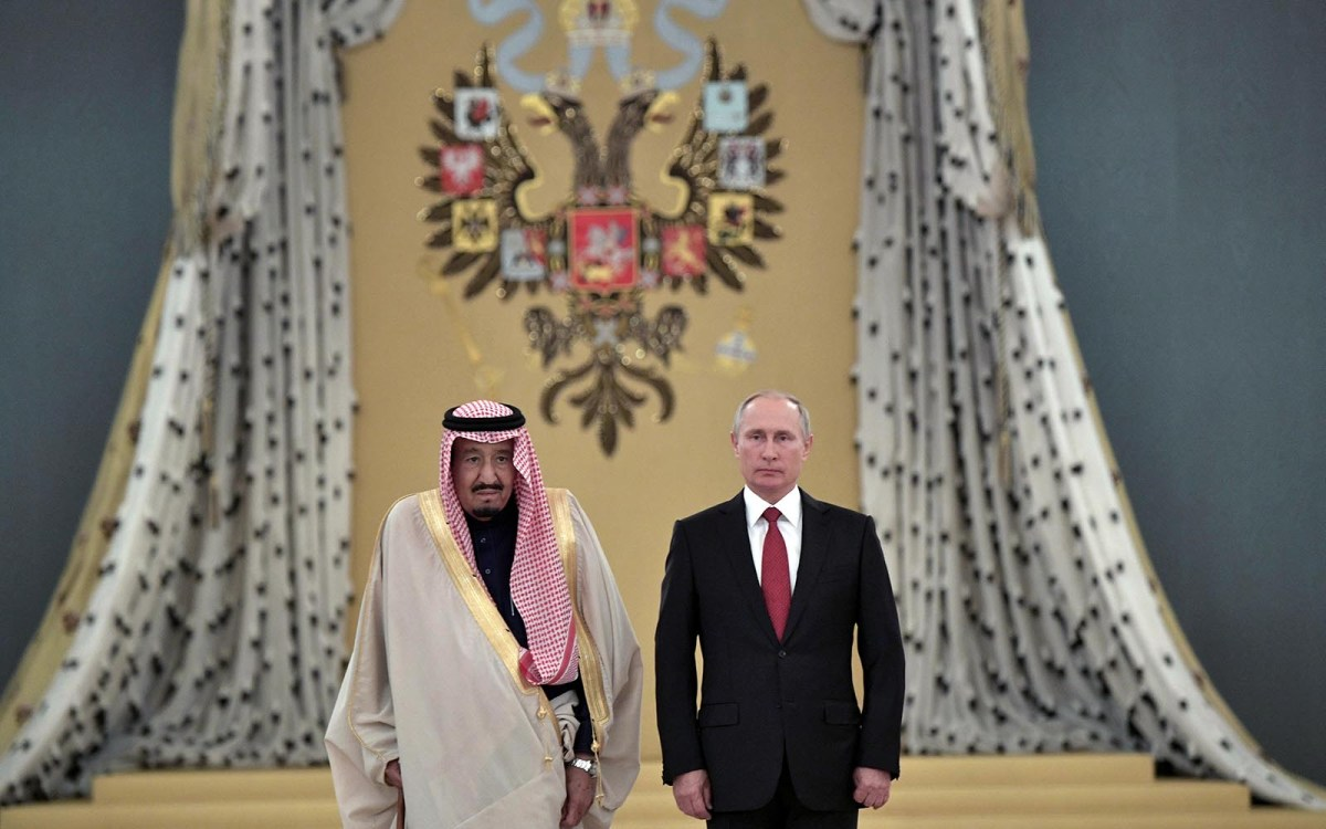 The House Of Saud Bows To The House Of Putin Asia Times