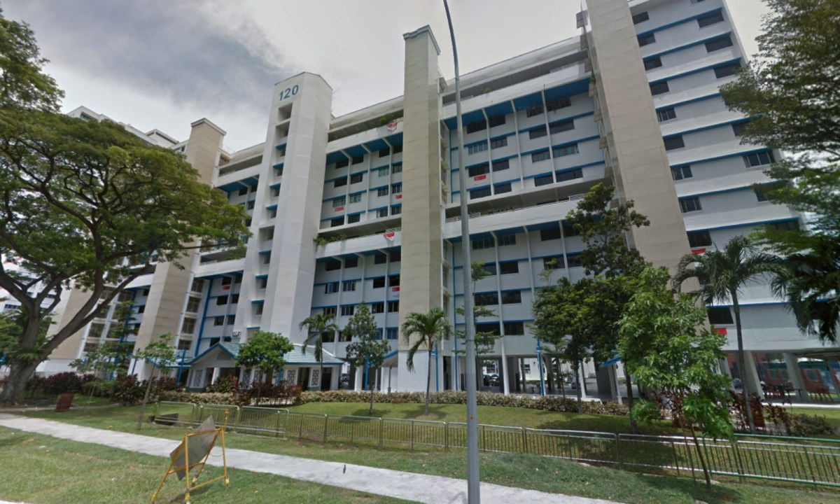 Block 120 HDB Geylang East, Geylang East Central, Singapore. Photo: Google Maps