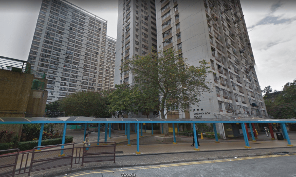 The rape took place last Sunday at a public housing estate in Hong Kong's Fanling district. Photo: Google Maps