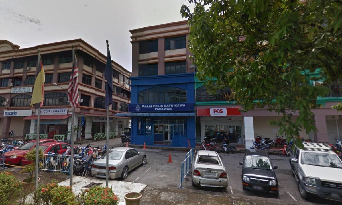 Batu Kawa Police Station, Kuching, Sarawak, Malaysia. Photo: Google Maps