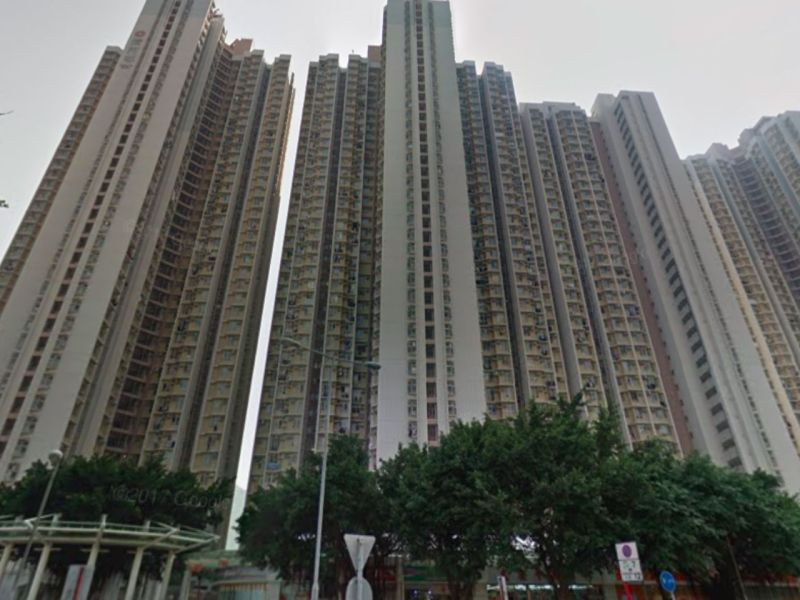 Ching Ho Estate in Sheung Shui, the New Territories. Photo: Google Maps