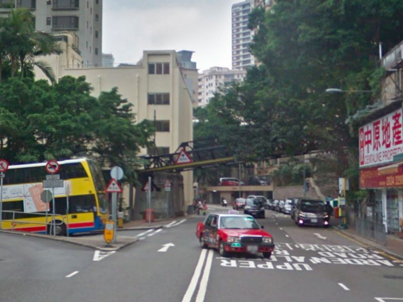 Kennedy Road in Central, Hong Kong Island. Photo: Google Maps